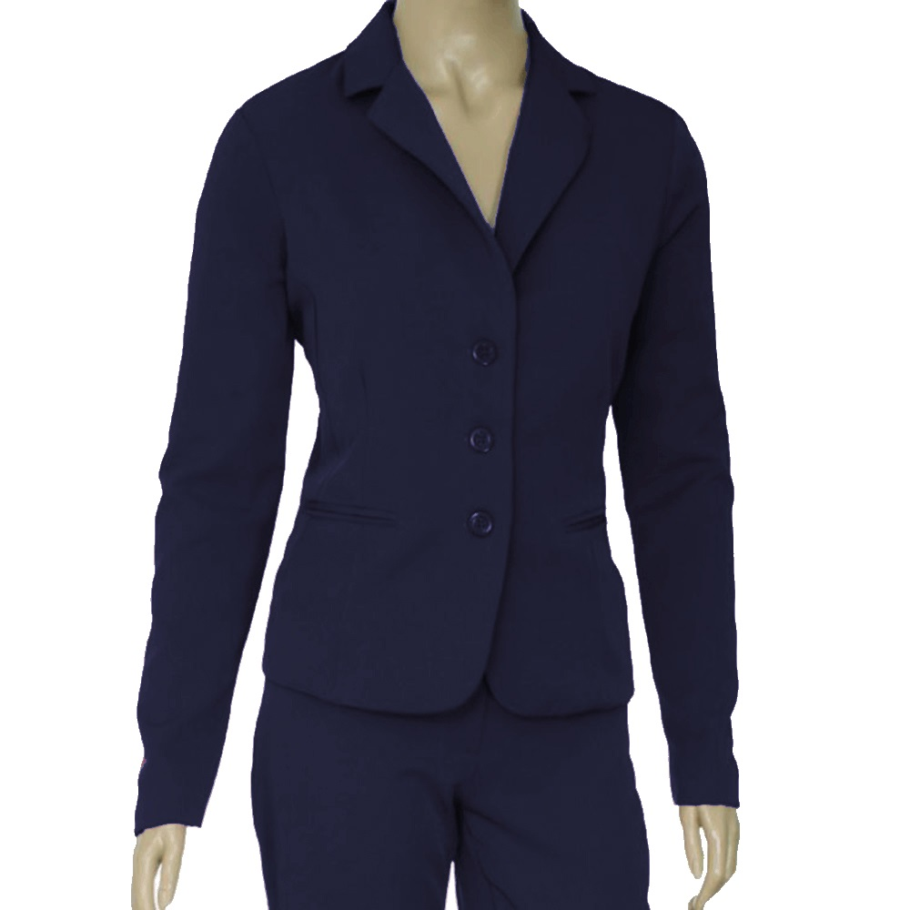 e2809babe4 Blazer Azul Marinho Feminino Forrado - Alpha Moda Social