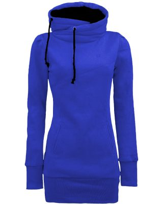 Blusa de Moletom Feminina Azul Bic