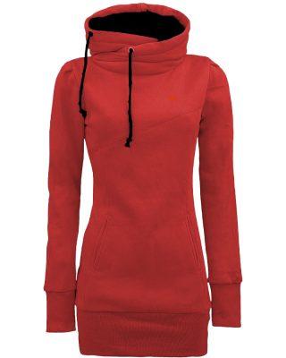 Blusa de Moletom Feminina Vermelha