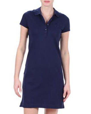 Vestido Polo Azul Marinho