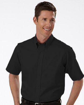 Camisa Social Masculina Manga Curta