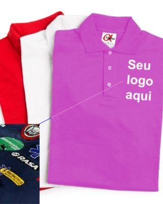 Pólo Feminina Personalizada – Kit c/ 4 pçs