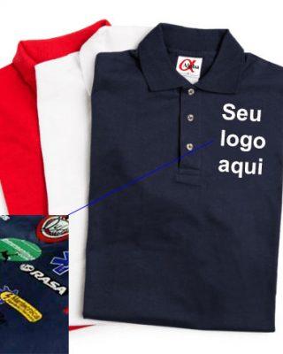 Pólo Masculina Personalizada – Kit com 4 pçs