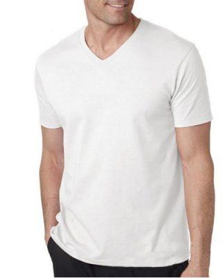 Camiseta Masculina Gola V