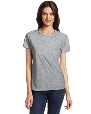 Camiseta feminina Baby look Gola Redonda – Manga Curta