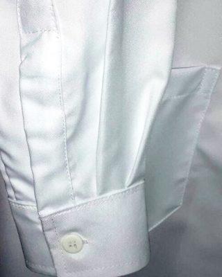 Jaleco Masculino Gola Esporte com punho de camisa- Tecido Gabardine