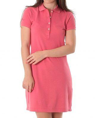 Vestido Polo Rosa Malva