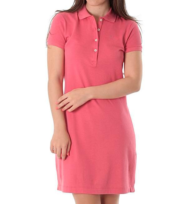 Vestido Polo Rosa Malva - Alpha Moda Social 86799a98e06