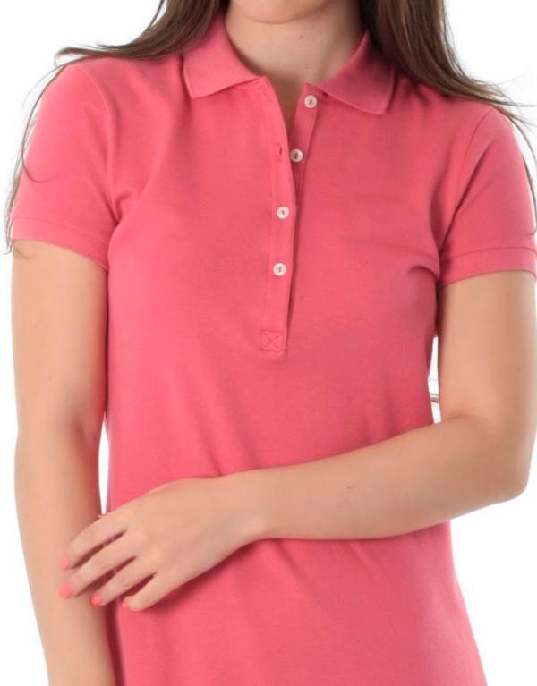 Vestido Polo Rosa Malva - Alpha Moda Social 24c6141031