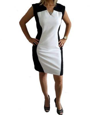 Vestido Social Tubinho Modelador de corpo