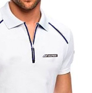 Camisa Pólo Alpha Sports com zíper Mod 4 – Exclusive