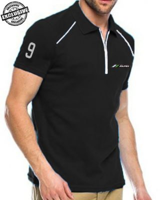 Camisa Pólo Alpha Sports com zíper Mod 5 – Exclusive