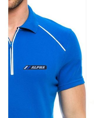 Camisa Pólo Alpha Sports com zíper Mod 6 – Exclusive