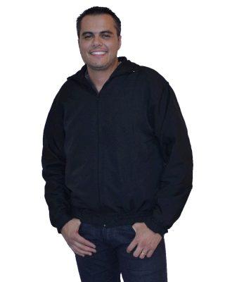 Jaqueta masculina Tactel Forrada com manta acrílica