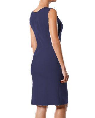 Vestido Tubinho Decote Quadrado – Personalizado kit c/ 4 pçs
