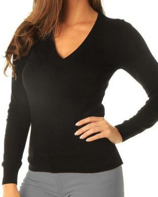 Blusa de Lã feminina Preta