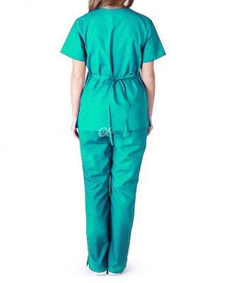 Conjunto Privativo Pijama Hospitalar Acinturado