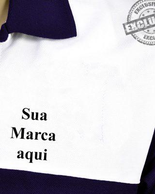 Camiseta Pólo Personalizada – Kit com 4 pçs