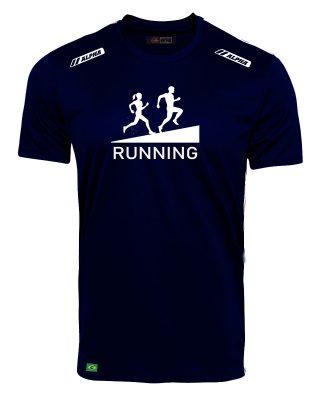 Camiseta Treino de corrida running 100% Poliamida