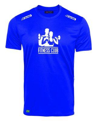 Camiseta Treino Fitness Club 100% Poliamida