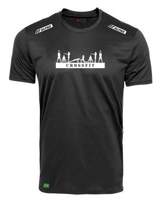 Camiseta Treino Crossfit Open 100% Poliamida