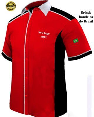 Camisa Masculina Personalizada – Kit c/ 4pçs