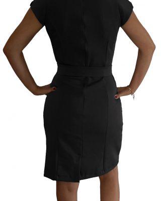 Vestido Tubinho com cinto – Personalizado kit c/ 4 pçs