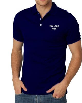 Camisa Pólo Malha Fria Personalizada – Kit com 4 pçs