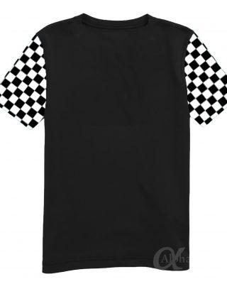 Kit 10 pçs Camisetas Personalizadas com o logo da sua empresa, manga quadriculada