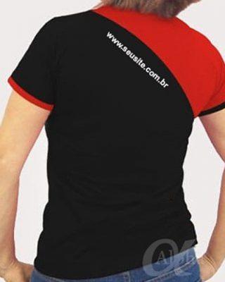 Camisetas kit com 10 pçs Personalizadas modelos diferenciado com recortes