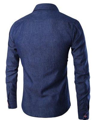 Camisa Jeans Personalizada – Kit c/ 4pçs