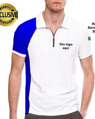 Camisa Camiseta Polo Uniformes Fardamentos Kit 4 Pçs