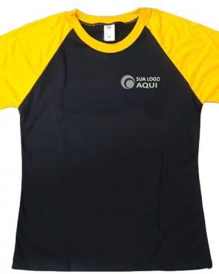 Kit 10 pçs Camisetas Personalizadas manga raglan