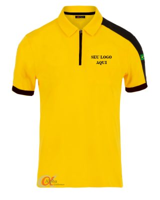 Camisa Pólo Personalizada com recortes Kit com 4 pçs