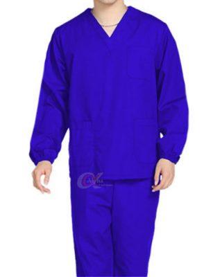 Pijama Uniforme Privativo Cirúrgico manga longa Enfermagem Médico