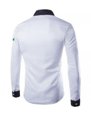 Modelo De Camisa Social Personalizada Uniformes Kit 4 Pçs