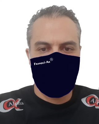 Máscaras Personalizadas para empresas – kit com 10 pçs