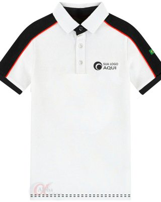 Camisa Pólo Personalizada com a marca da sua empresa – Kit com 4 pçs