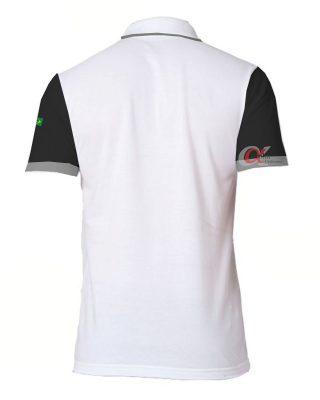 Camisa Polo bordada modelo diferenciado – Kit 4 pçs