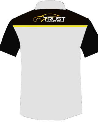 Camisa Social manga curta Trust Consultoria Kit 4 Pçs