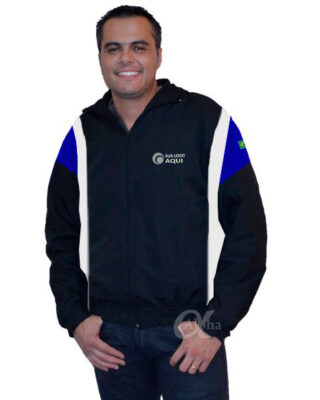 Jaqueta com recortes personalizada kit 4 pçs