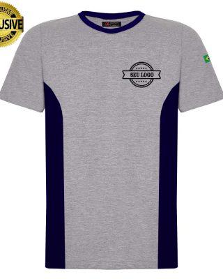 Camiseta uniformes para empresa com logotipo com sublimação kit 10 pçs