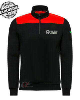Blusa de frio personalizada Helanca Soft kit 4 pçs