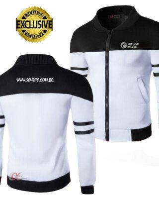 Blusa de frio Helanca Soft Sport personalizada kit 4 pçs