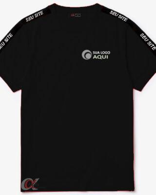 Camiseta alpha uniformes em malha com proteção UV personalizada kit 10 pçs
