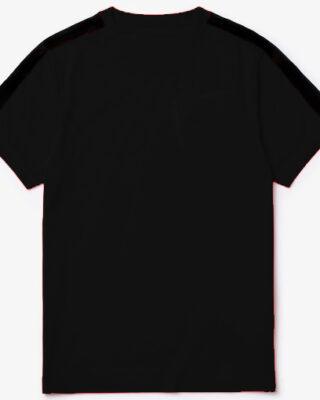 Camiseta básica preta gola careca franquia Premyer – kit com 10 pçs